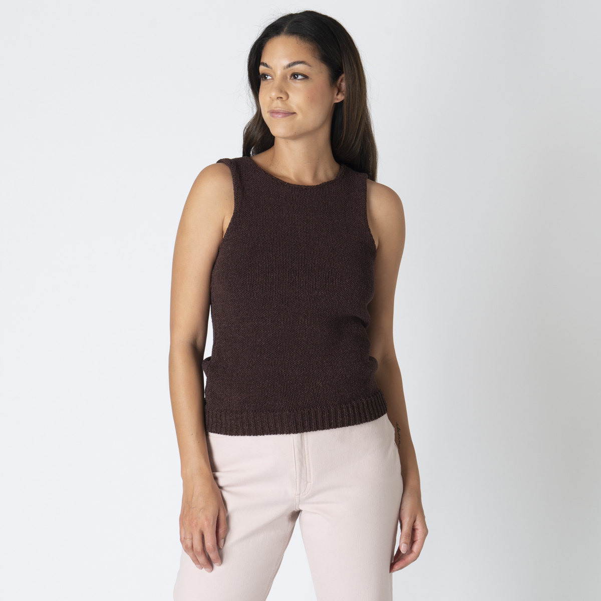 Theory Cotton Knit Top