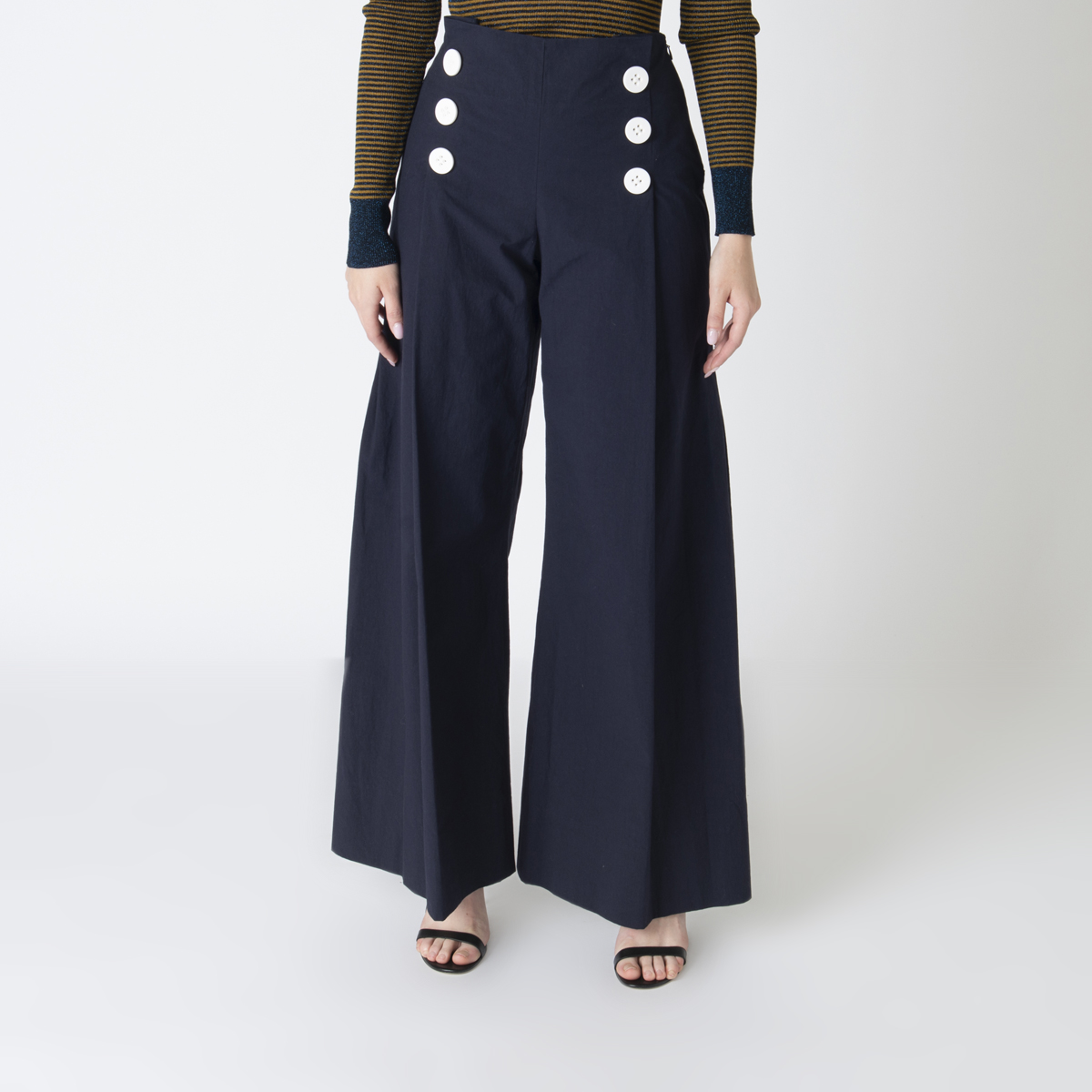 Rosie Assoulin Wide-Leg Sailor Pants – New With Tags