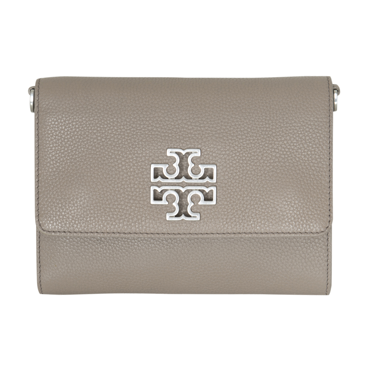 Tory Burch Leather Wallet On Chain