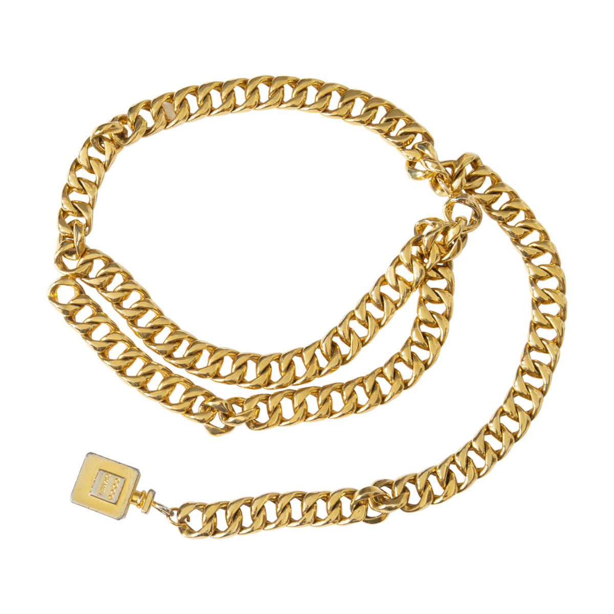 Chanel Curb Link Coco Chanel Belt
